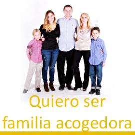 Quiero ser familia acogedora