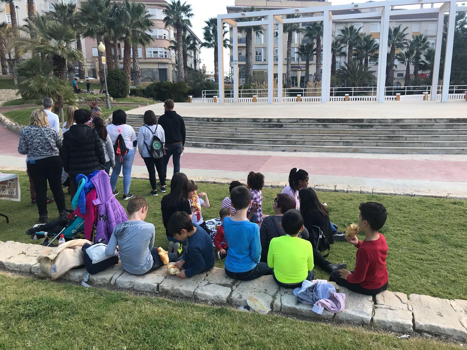 Asociacion Xiquets, Abril 2018 Dia de la mona